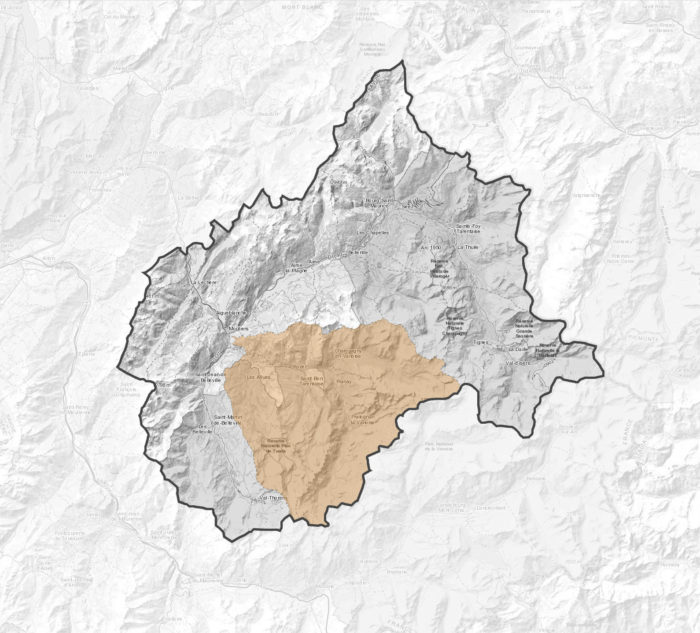 Carte Val Vanoise
