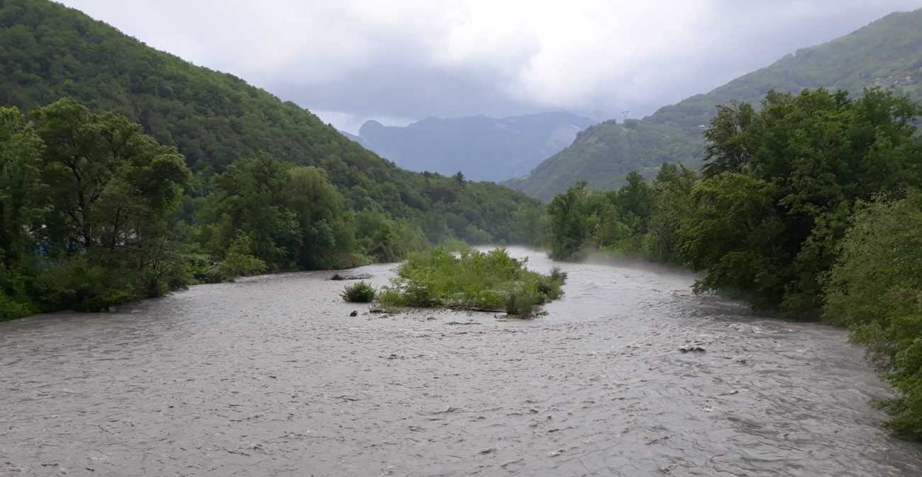 Une expérimentation hydraulique en Basse Tarentaise
