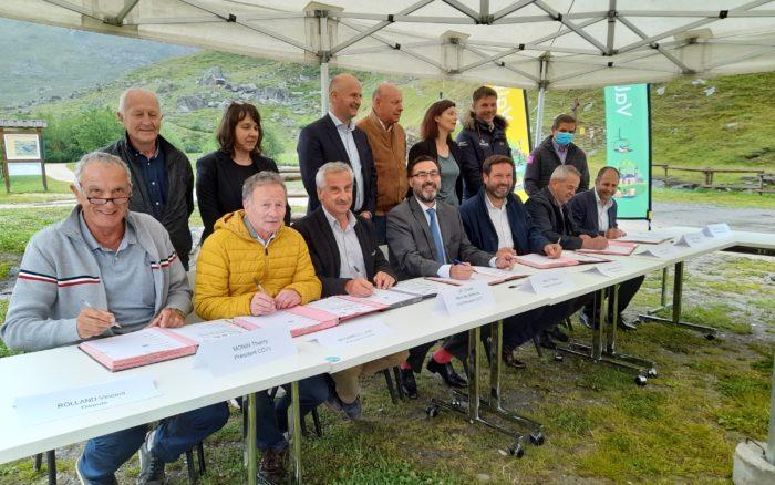 Signature du Contrat de Relance et de Transition Écologique Tarentaise Vanoise